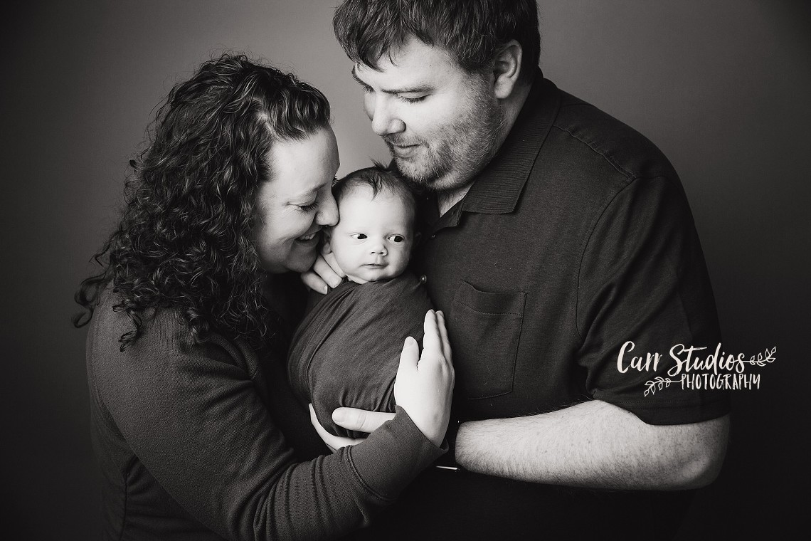 Natural cedarburg wisconsin photographer baby boy parents studio newborn photography carr studios